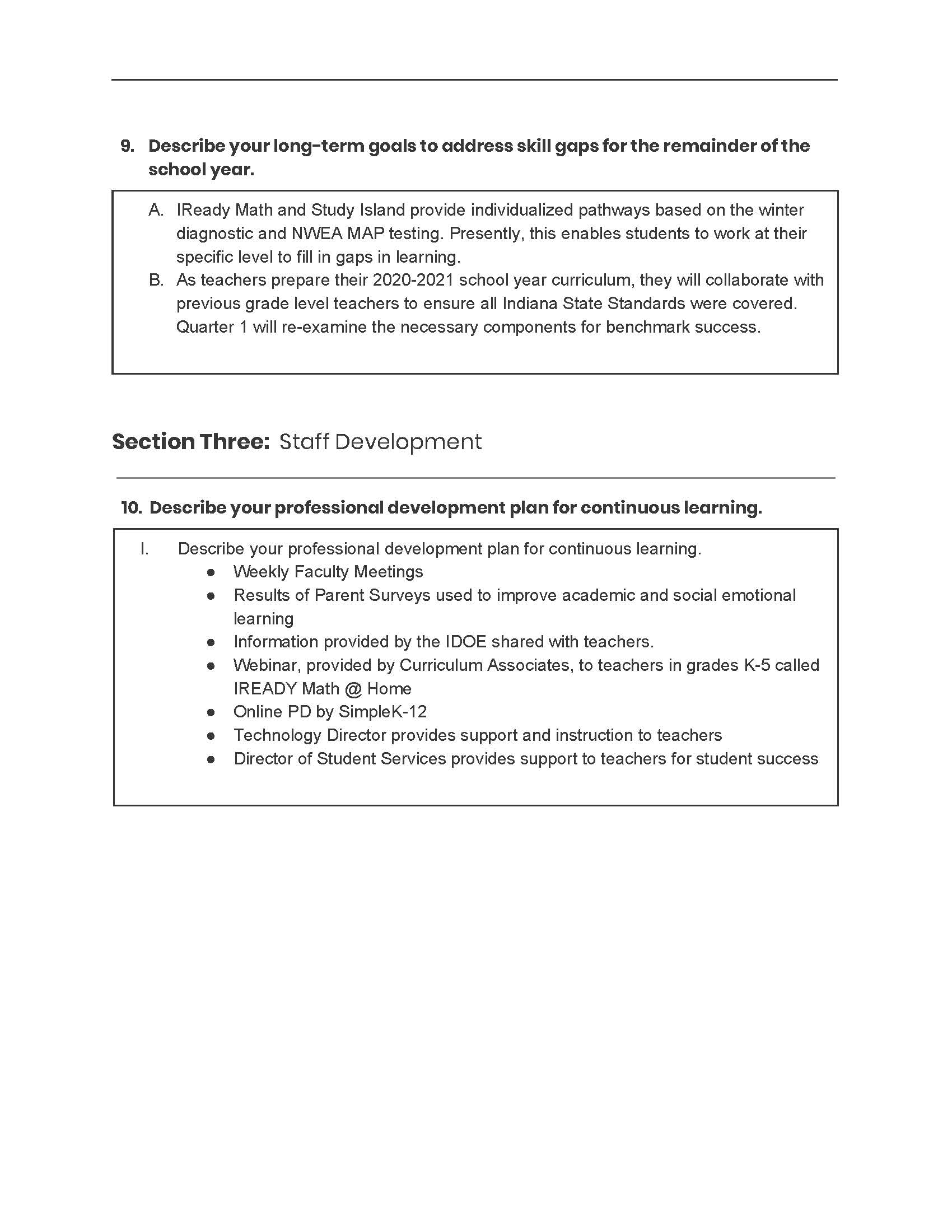 Continuous Learning Plan Page 4